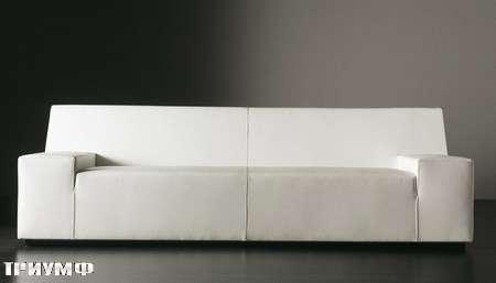 Итальянская мебель Meridiani - диван Damon глубокий