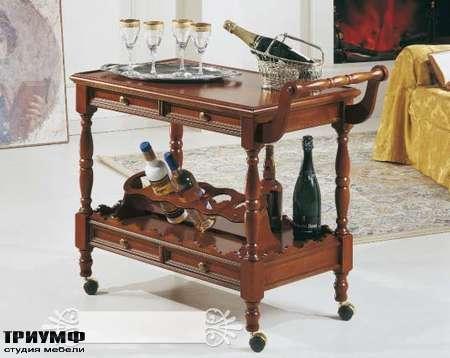 Итальянская мебель Interstyle - Moisson передвижной стол