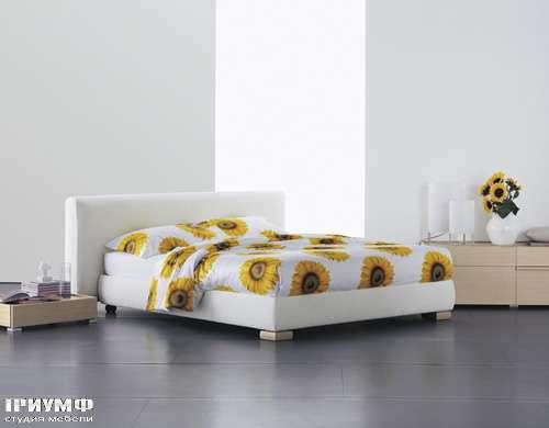 Итальянская мебель Flou - кровать levanzo cp girasole