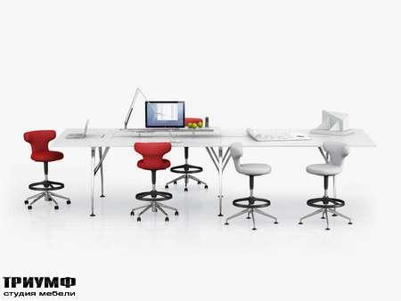 Швейцарская  мебель Vitra  - high work