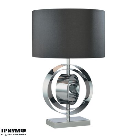 Американская мебель George Kovacs - 1 Light Table Lamp Black Shade