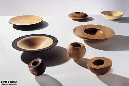 Итальянская мебель Driade - Предметы из дерева