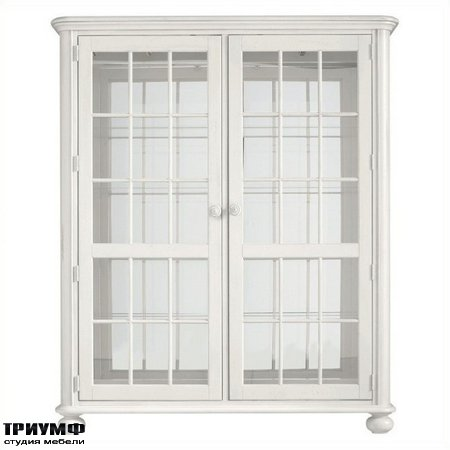 Американская мебель Stanley - Retreat Newport Storage Cabinet in Saltbox White