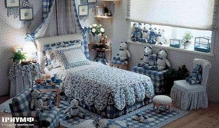 Итальянская мебель Halley - Детская в текстильной отделке