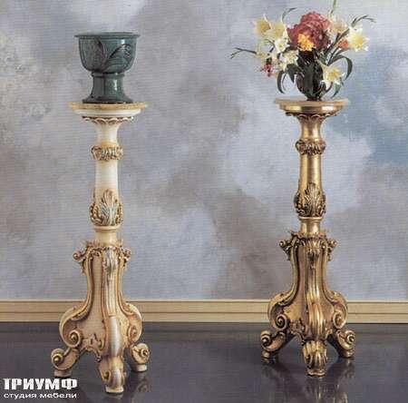 Итальянская мебель Silik - Цветочная подставка резная
