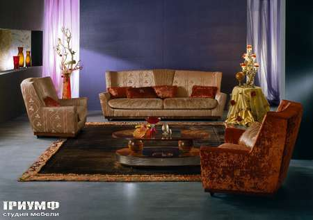 Итальянская мебель Carpanelli Spa - Диван Arte DI04