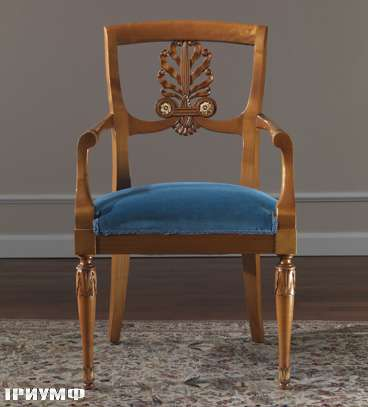 Итальянская мебель Colombo Mobili - Полукресло арт. 337.Р кол. Monteverde