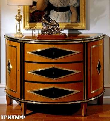 Итальянская мебель Colombo Mobili - Комод в имперском стиле арт.127 кол. Cimarosa