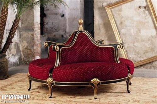 Итальянская мебель Mantellassi - Диван Boudoir