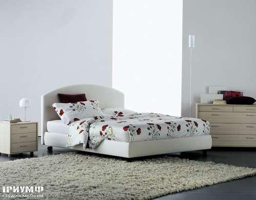 Итальянская мебель Flou - кровать magnolia cp campo