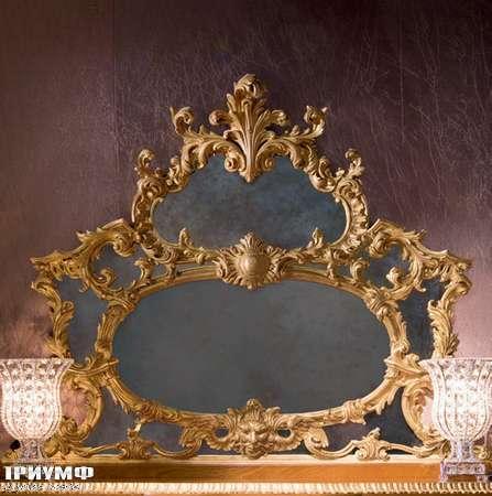 Итальянская мебель Provasi - hand carved mirror