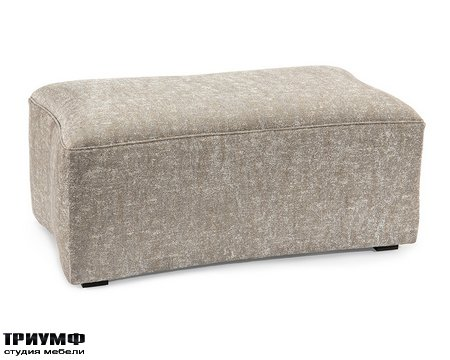 Американская мебель John Richard - Concaved Rectangular Ottoman