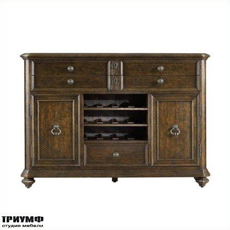 Американская мебель Stanley - Rustica Dining Cabinet in Sorrel
