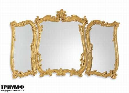 Итальянская мебель Chelini - Зеркало для туалетного столика арт.1105