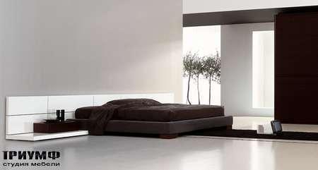 Итальянская мебель Pianca - Кровать People Vintage Tatami с прикроватными столиками