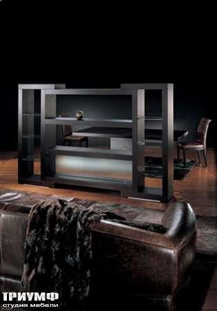 Итальянская мебель Smania - Стеллаж открытый Eclectic Tre, венге