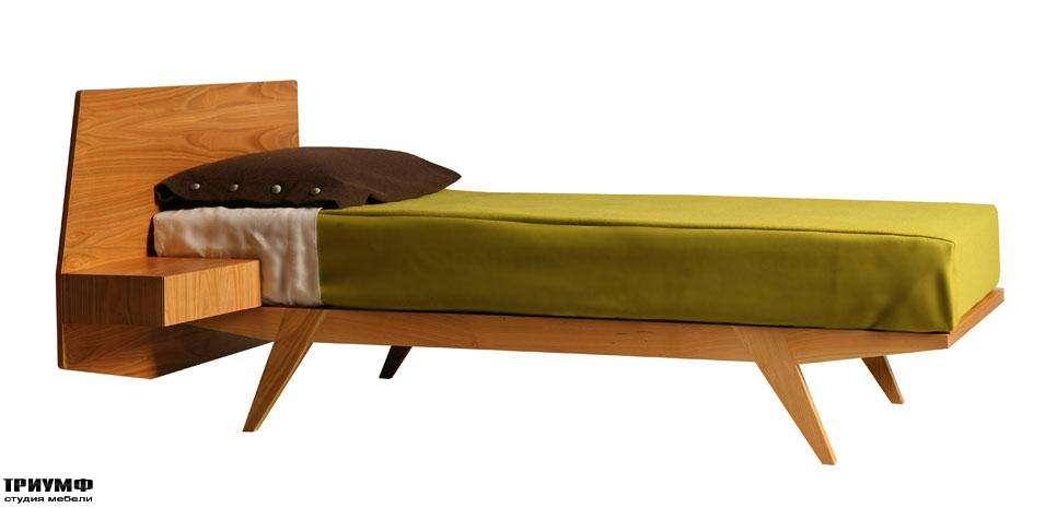 Итальянская мебель Morelato - Кровать с боковым ящиком