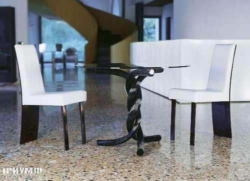 Итальянская мебель Reflex Angelo - torsades nero ambientato villa HR