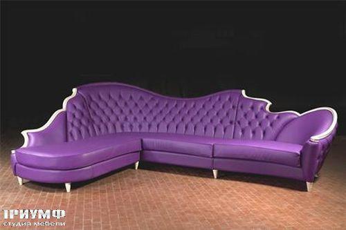Итальянская мебель Mantellassi - Диван Lady D comp