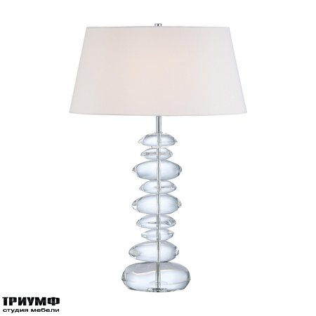 Американская мебель George Kovacs - 1 Light Table Lamp with Chrome finish