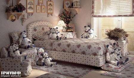 Итальянская мебель Halley - Кровать Gordon con Boa