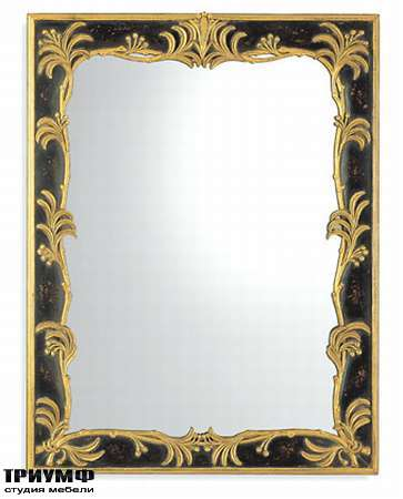 Итальянская мебель Chelini - Зеркало с лепестками арт. 1127