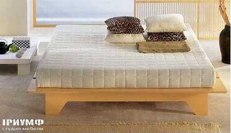 Итальянская мебель Rattan Wood - Кровать Somier Ecologico