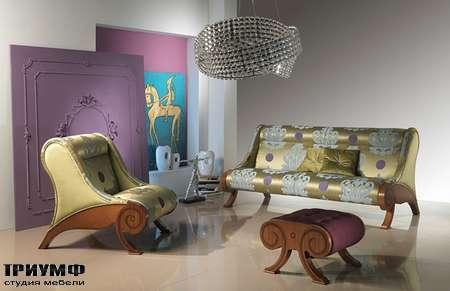 Итальянская мебель Carpanelli Spa - Диван Glamour DI06