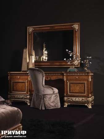 Итальянская мебель Jumbo Collection - Туалетный столик OPERA03 стул OPERA04 зеркало OPERA06