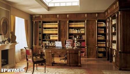 Итальянская мебель Grilli - стол, библиотека