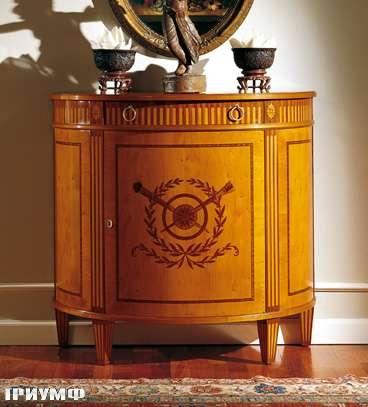 Итальянская мебель Colombo Mobili - Комод в стиле Бидермайер арт.261 кол. Cimarosa