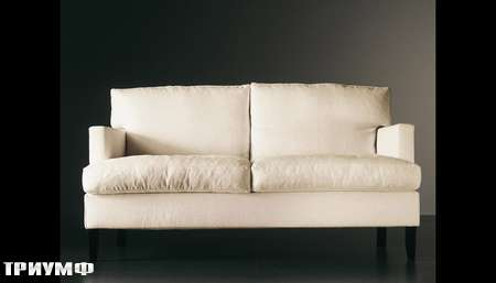 Итальянская мебель Meridiani - диван Gabin в ткани, венге