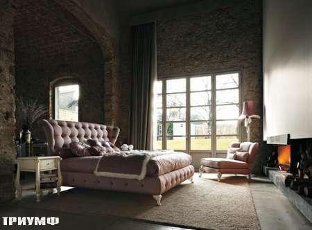 Итальянская мебель Volpi - кровать Ludovica