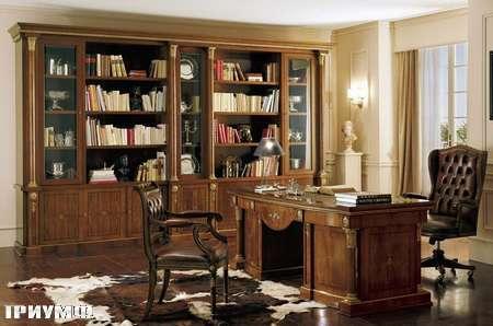 Итальянская мебель Grilli - библиотека, кресло руководителя