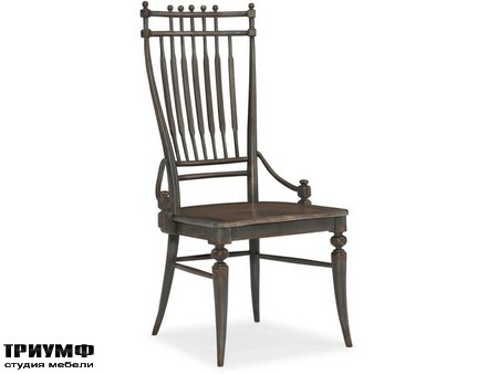 Американская мебель Hooker firniture - Arabella Windsor Side Chair