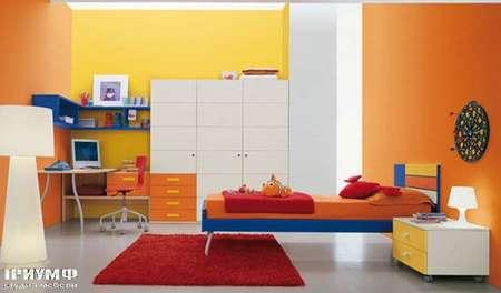 Итальянская мебель Julia - Шкаф с тумбой, smail