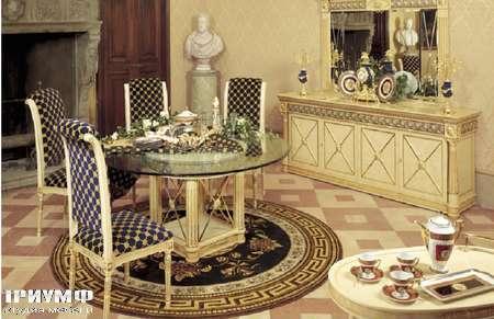 Итальянская мебель Jumbo Collection - Стол со стеклом коллекция Palladium