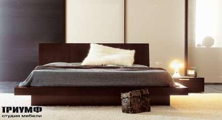 Итальянская мебель Pianca - Кровать Shiro с контейнером