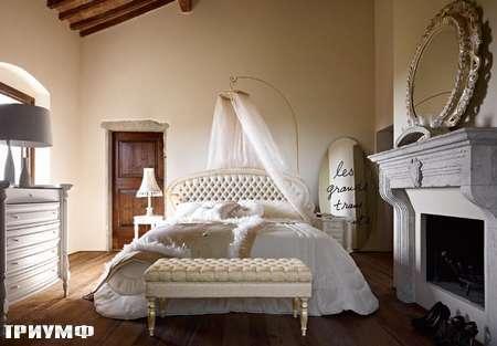 Итальянская мебель Volpi - кровать Paolina