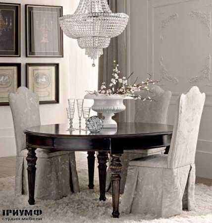 Итальянская мебель Dolfi - стол и стулья