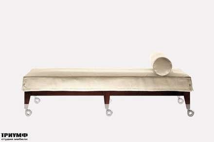 Итальянская мебель Driade - Банкетка мобильная на колесах