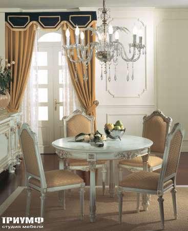Итальянская мебель Silik - Стол обеденный круглый Talia