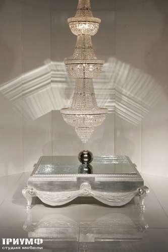 Итальянская мебель Cornelio Cappellini - Журнальный стол стекло, лак