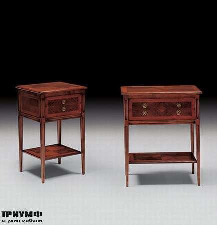 Итальянская мебель Medea - Столик с ящиками, в стиле арт деко арт. 767