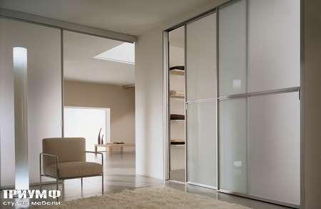 Итальянская мебель Longhi - Система раздвижных дверей Street с разделителем