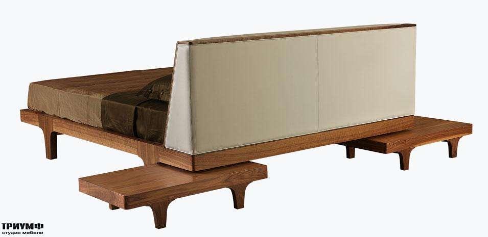 Итальянская мебель Morelato - Кровать с изножием на ножках