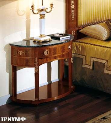 Итальянская мебель Colombo Mobili - Комод консоль в имперском стиле арт.146 кол. Bellini