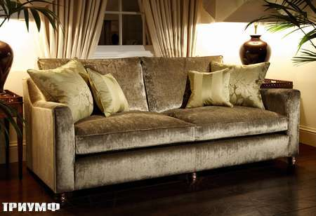 Английская мебель Duresta - диван paris в велюре