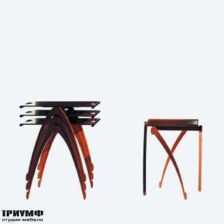 Итальянская мебель Driade - Складной столик Gacela