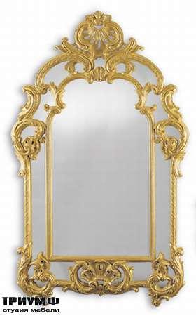 Итальянская мебель Chelini - Зеркало ампир арт. 312